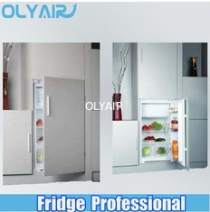 China OLYAIR 2014 SINGLE DOOR BUILT IN REFRIGERATOR BD-114 OUTSIDE CONDENSER factory