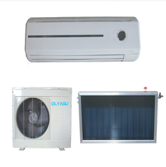 Olyair Flat plate collector type hybrid solar air conditioner