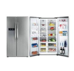 China 603L side by side refrigerator factory
