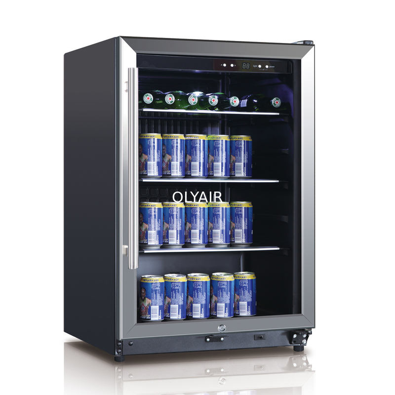 Beverage Cooler 131l Black Led Display
