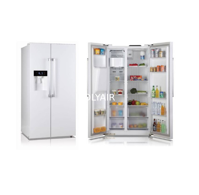504L side by side refrigerator supplier