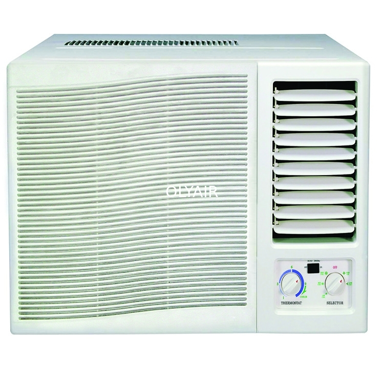 7000btu R410a window air conditioner mechanical control cool and heat with remote controller supplier