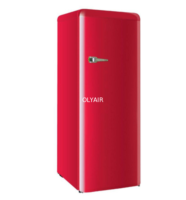 China Single door retro fridge 248L distributor
