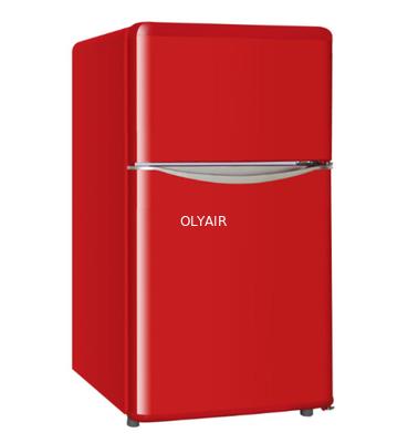 China retro double door refrigerator distributor